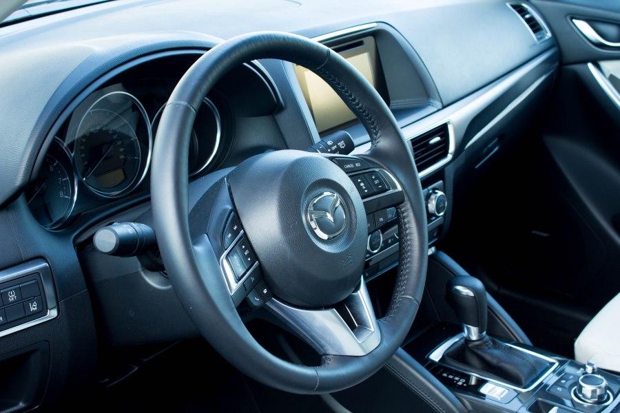 CX-5 interior