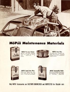 1949 Mopar Accessories