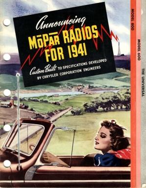 1949 Mopar Radios