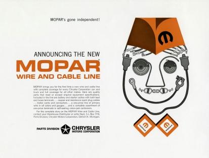 1963 Mopar Wire & Cable Ad