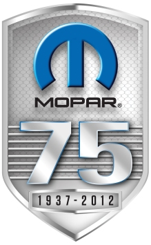 "2012 - The Mopar brand celebrates 75 years and accelerates its transformation into a brand responsible for the ""customer journey"" of all FCA vehicles around globe."