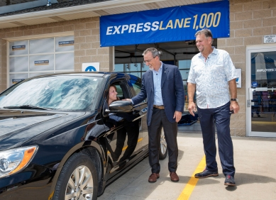 2016 - The 1,000th Mopar Express Lane is opened in the U.S., with more than 1,750 Mopar Express Lane locations operational in more than 20 countries around the world.